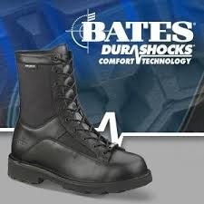 "Bates 8"" DuraShocks® Lace-to-Toe Side Zip"