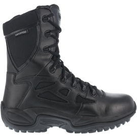 "Reebok Stealth 8"" Waterproof Boot with Side Zipper"